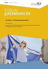 Cover Forum Jugendhilfe 03/2020 mit dem Schwerpunkt EU-Ratspräsidentschaft