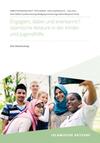 """Cover der Publikation """"Engagiert, dabei und anerkannt?! Islamische Akteure in der Kinder- und Jugendhilfe"""""""
